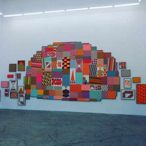 "Barry McGee, from ""China Boo"" at Ratio 3, 2015"